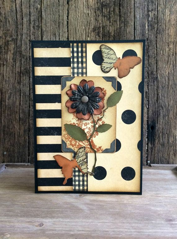 Handmade Greeting card Mother's Day card by Crafting Emotion