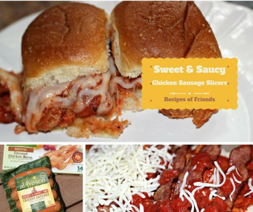 Sweet & Saucy Chicken Sausage Sliders #Recipes #RecipesOfFriends #Food #Foodblogger (scheduled via http://www.tailwindapp.com?utm_source=pinterest&utm_medium=twpin&utm_content=post109037663&utm_campaign=scheduler_attribution)