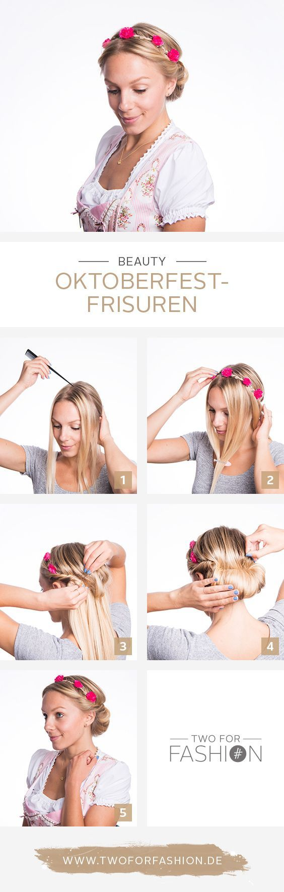 The most beautiful Oktoberfest hairstyles – without lichens!