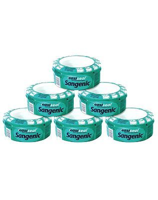 Sangenic Easiseal Six Refill Extra Odour 10115094 116 Advantage card points. The Sangenic Easiseal refill cassette uses a fragranced, anti-bacterial film which is ideal for extra odour protection. Used with the Sangenic Easiseal Disposal System it is http://www.MightGet.com/february-2017-1/sangenic-easiseal-six-refill-extra-odour-10115094.asp