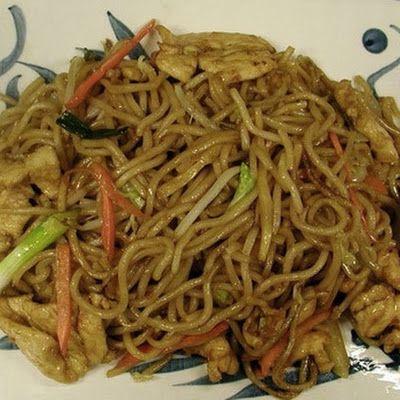 Spicy Chicken Lo Mein Recipe - Key Ingredient