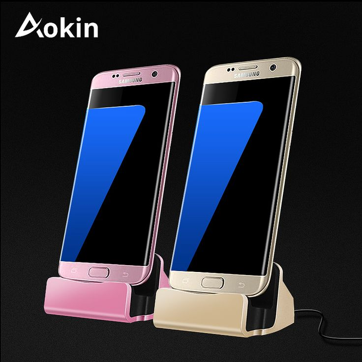 Aokin #Charger #Dock #Stand 2 In 1 Micro USB Dock Stands Cradle Station Fast Charging #Holder For iPhone 5 SE Samsung S8 Phone Stand #aliseller360