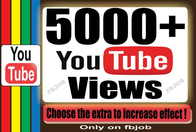 http://DiscountClerks.aDollarSEO.com/ has Send 5000  YouTube Views for your Video to Improve your social medi... for #SALE Price of $5