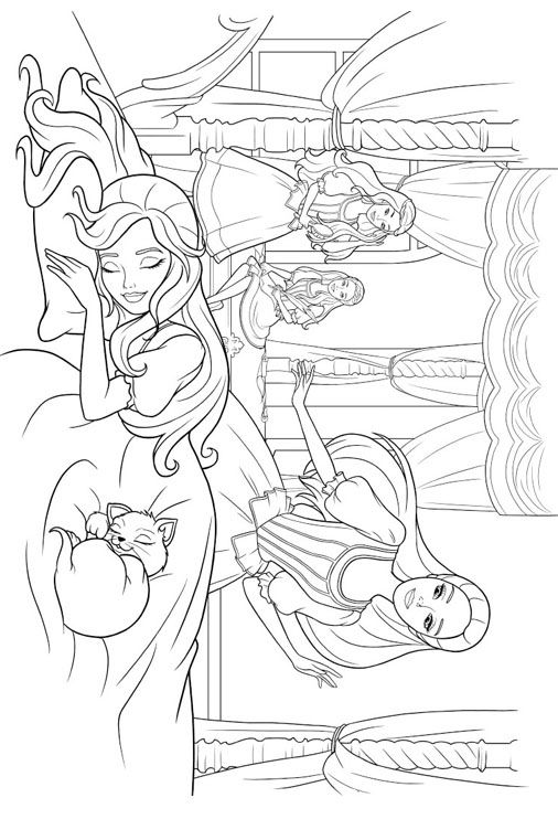 15 besten Barbie - Coloring Pages Bilder auf Pinterest ...