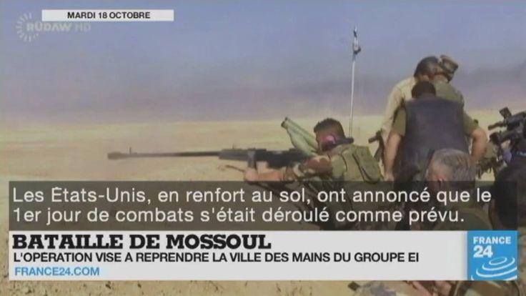 Bataille de #Mossoul en #Irak, guerre en #Syrie, conflit au #Yémen, tensions en #RDC, émeutes au #Brésil... Le point sur l'actualité en VIDÉO
