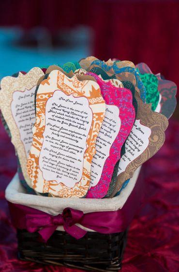 Unique Wedding Ideas   Gratification Cards As Favors | WedMeGood #wedmegood  #indianbride #indianwedding