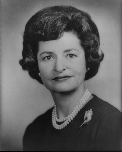 Lady Bird (Claudia Alta Taylor Johnson) financed her husband Lyndon Johnson's first campaign for Congress, using her inheritance.  Throughout his career, she was known as a gracious hostess.  She supported highway beautification and Head Start as 1st Lady.
