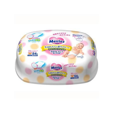 Merries Салфетки детские 54 шт.  — 470р. ----------------------- Детские салфетки Merries 54 шт цвет розовый.Влажные салфетки для новорожденных японской марки Merries в пластиковом контейнере. Если вам надоело, что при замене подгузника кожу малыша приходится долго или сильно тереть, если вас беспокоит, что нежная кожа краснеет и натирается при использовании салфеток, попробуйте салфетки Merries. Они мягкие и плотные, на их поверхности имеются зоны для удерживания стула (небольшие…