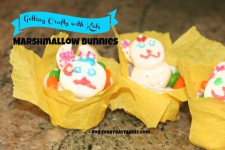 An Easter party favor or just a fun edible decoration for your kids to make and craft this Easter.