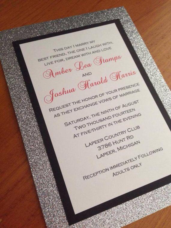 Bling Wedding Invitations 023 - Bling Wedding Invitations