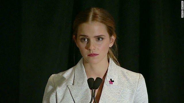 Transcrição do discurso de Emma Watson, em 20 de Setembro de 2014, na ONU. http://discursostranscritos.blogspot.com/