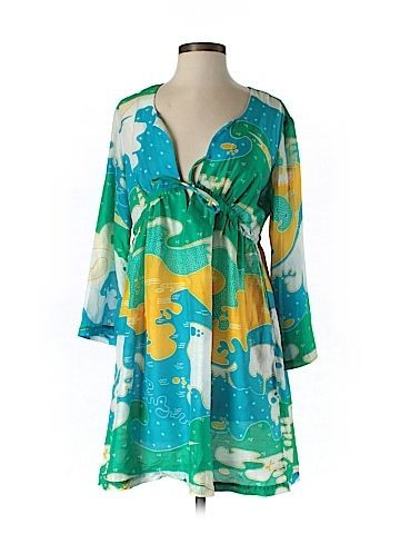 Check it out -- Diane Von Furstenberg Swimsuit Cover Up for $81.99 on thredUP!   Love it? Use this link for $10 off. New customers only.