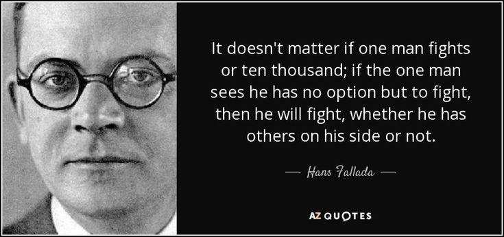TOP 5 QUOTES BY HANS FALLADA | A-Z Quotes