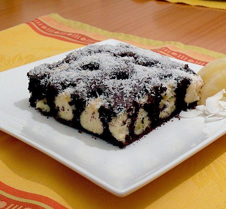 Schoko - Kokos Duo - Schnitten, ein leckeres Rezept aus der Kategorie Kuchen. Bewertungen: 80. Durchschnitt: Ø 4,3.