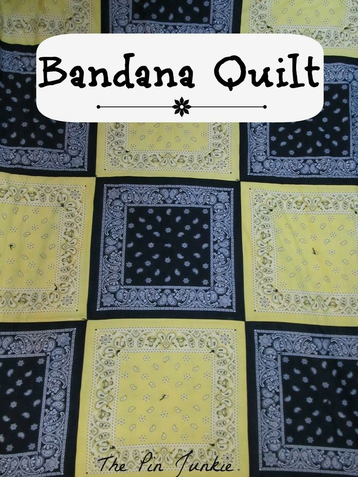The Pin Junkie: Bandana Quilt