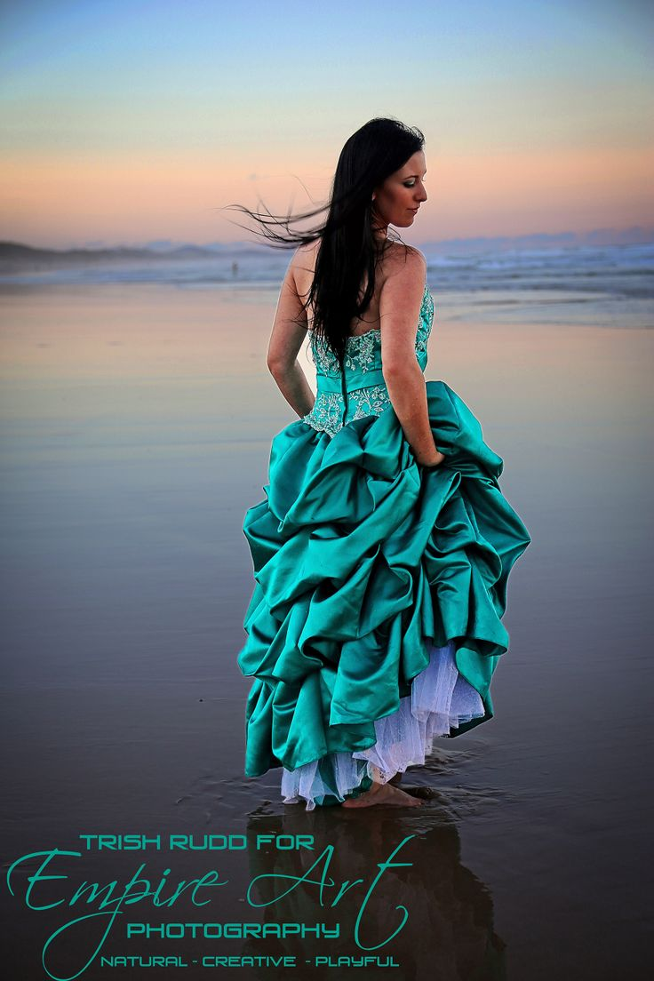 Sunshine coast photographer, capturing natural moments during a styled trash the dress shoot.