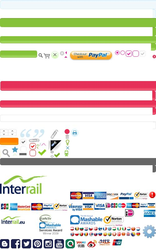 Choose the Right Interrail Pass On The Official Site | Interrail.eu
