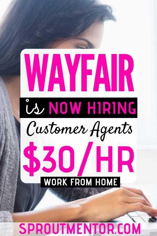 Legitimate Work From Home Jobs Hiring Now (Wayfair…