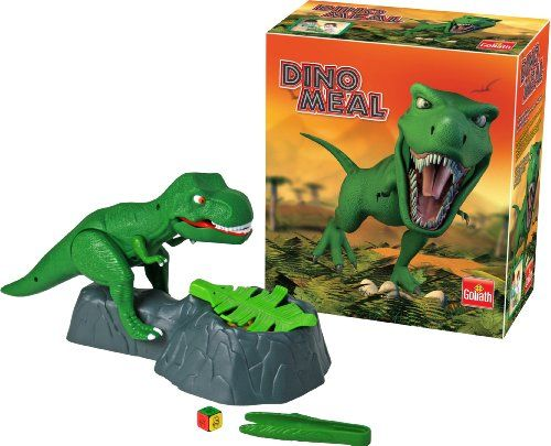 Dino Meal The Steal Eggs Before Dinosaur Lunges Game Goliath Games