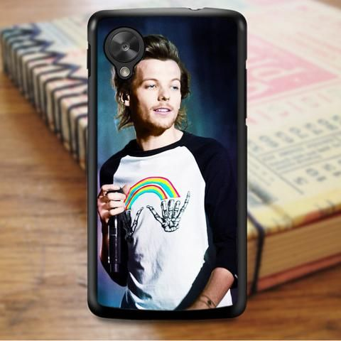 Louis Tomlinson One Direction Singer Nexus 5 Case