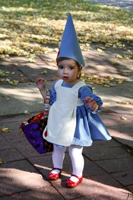 Garden Gnome costume made for my granddaughter!