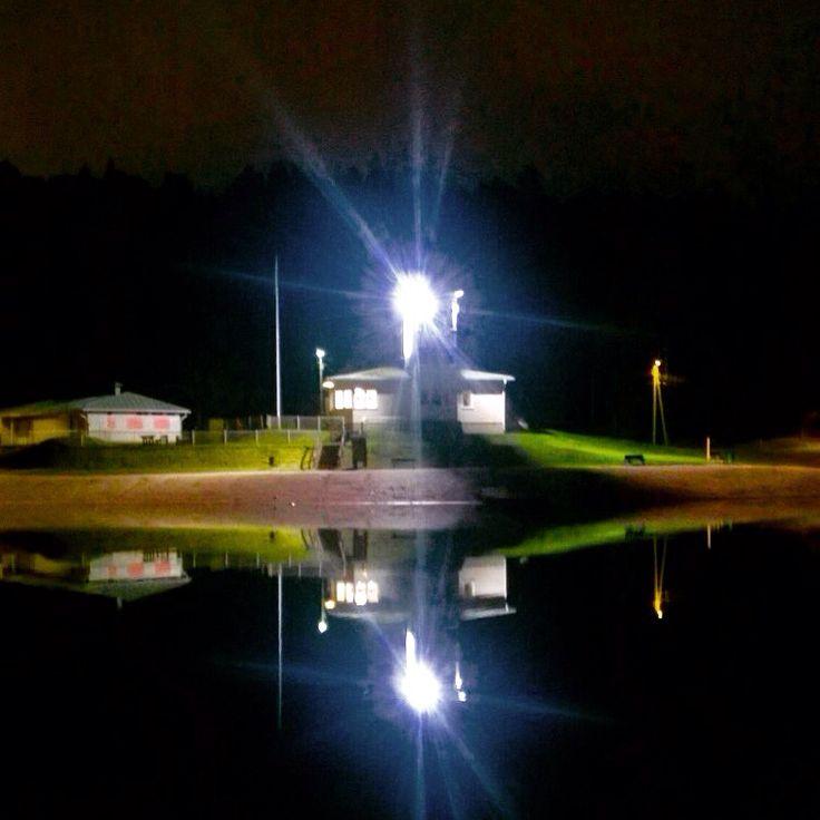 Ahveniston samettinen yö syyskuun lopussa #Hämeenlinna #Finland
