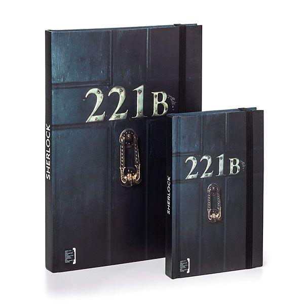 Sherlock 221b Notebooks | ThinkGeek