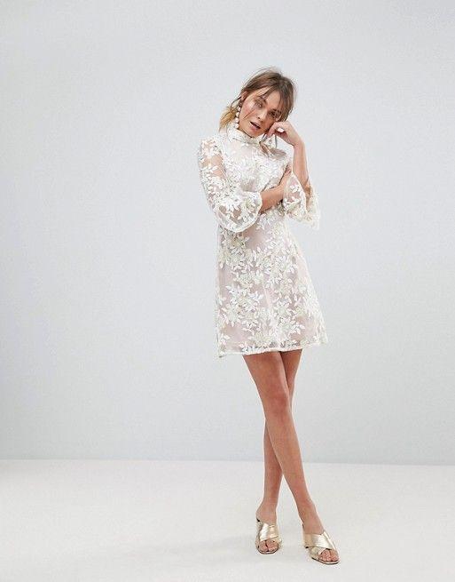 11fdf65ffee618 Discover Fashion Online | Style Inspo | Skater dress, Dresses, White ...