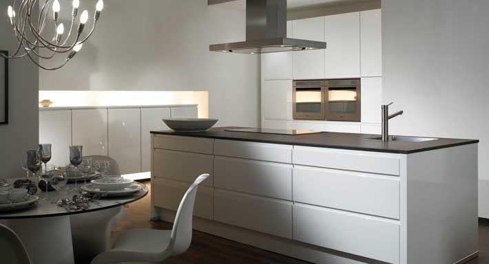 33 beste afbeeldingen over model greeploos op pinterest kasten keuken wit en malm - Model keuken wit gelakt ...