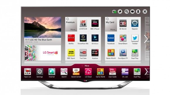 6 best Smart TVs in the world 2013/LG Smart TV