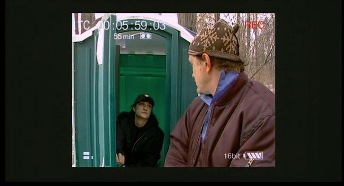 Playing the Victim (Изображая жертву) is a Russian 2006 black comedy film by Kirill Serebrennikov with Yuri Chursin (Кирилл Серебренников, Юрий Чурсин)
