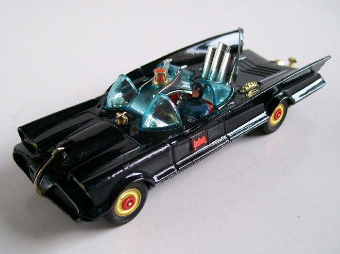 Corgi Batmobile - I loved my batmobile it used to fire plastic torpedo's lol :-)