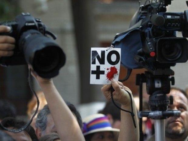 Periodistas mexicanos bajo amenaza del narco, denuncia Foto: Reuters