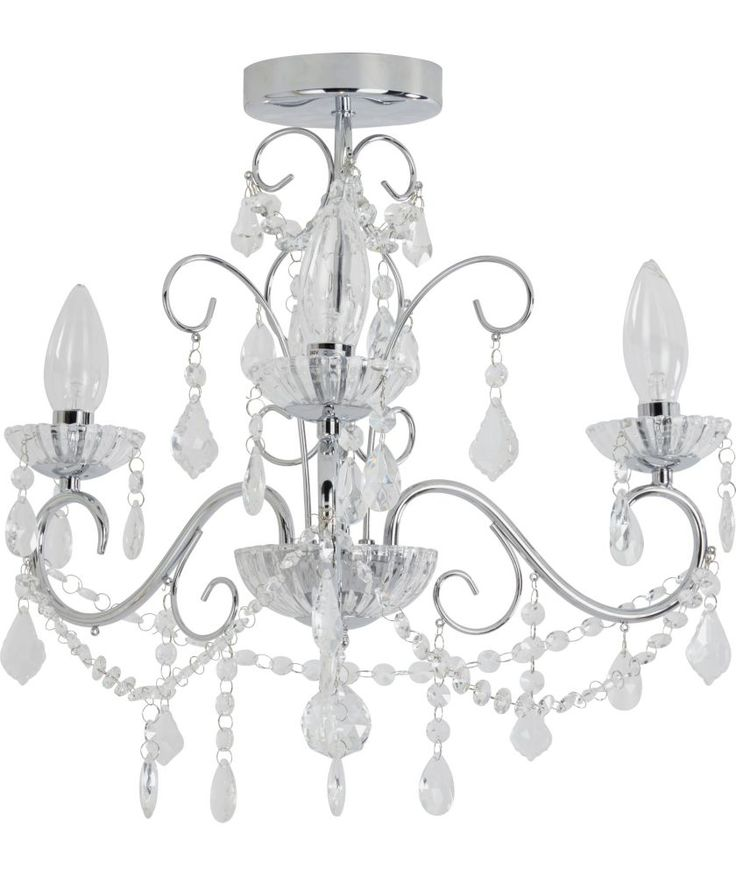Buy Heart Of House Spetses Chandelier Bathroom Fitting Chrome At Argos Co Uk Your Online