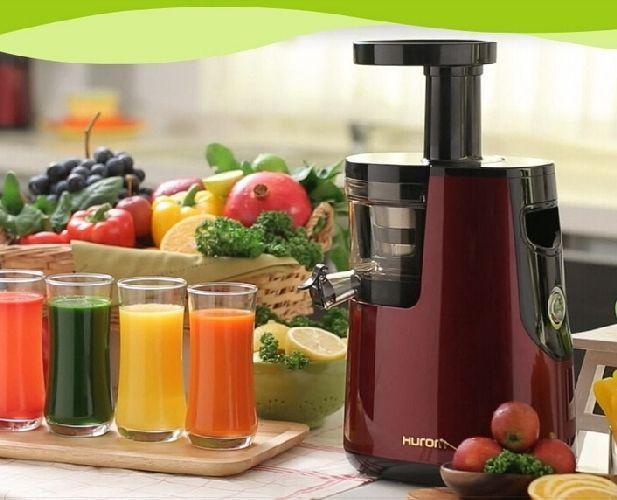 New hurom slow juicer HU-600WN fruits and vegetables low speed juicer 100% origi