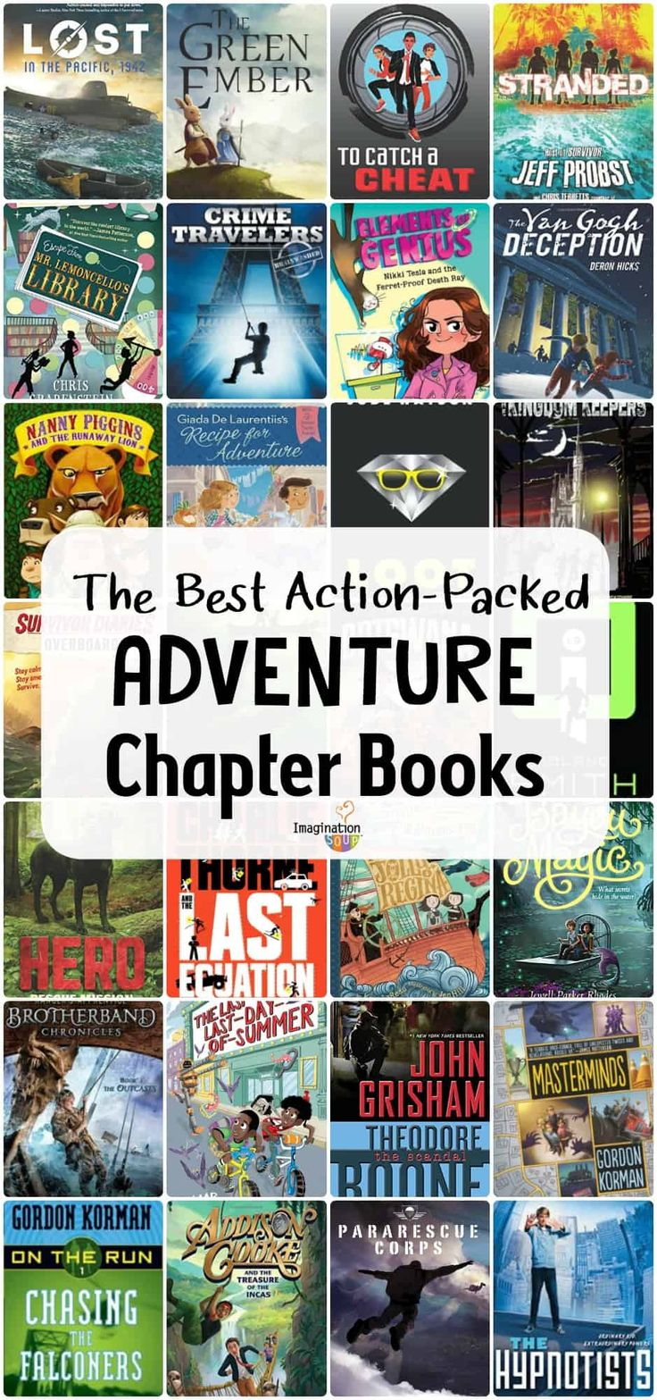 Awesome actionpacked adventure books for kids in 2020