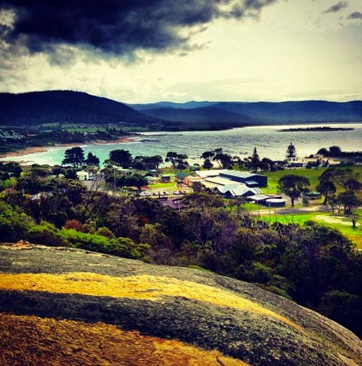 Bicheno Tasmania, view from whalers lookout