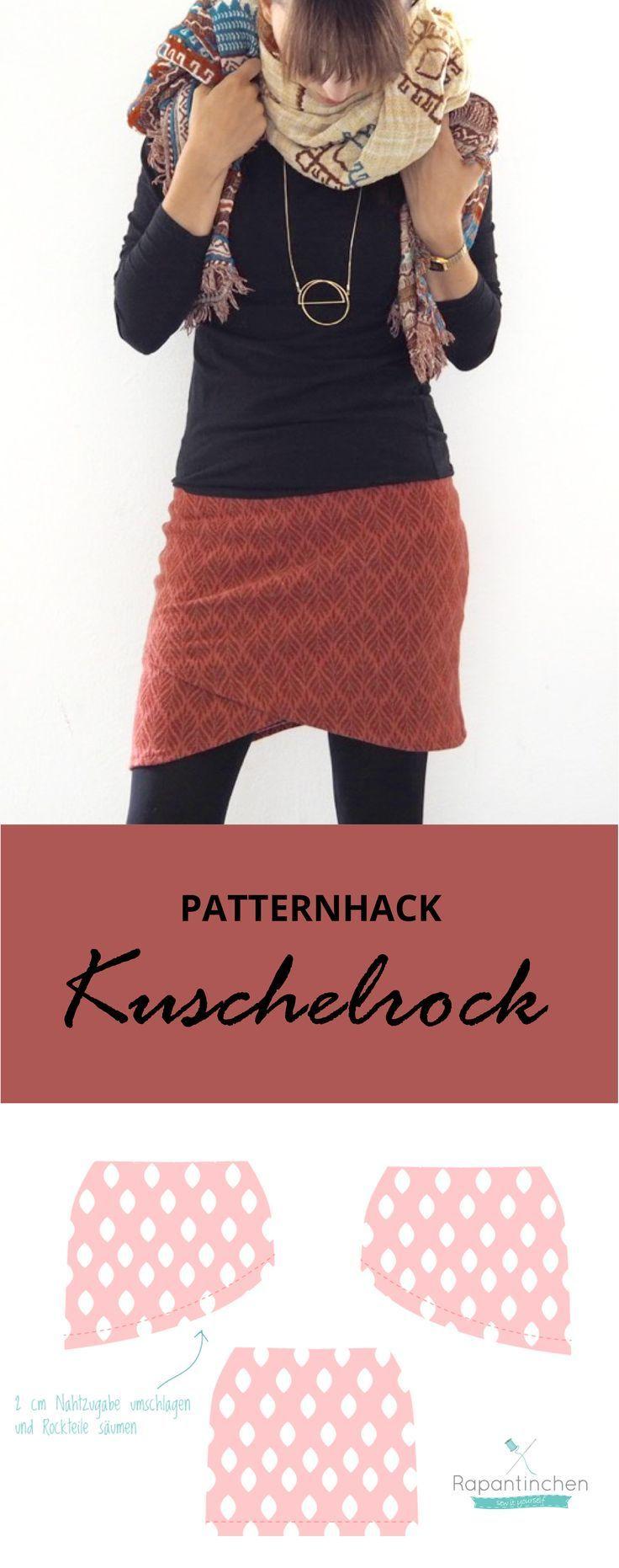 {genäht} – Patternhack Kuschelrock mit Nähanleitung – Schokoladen Prinzessin