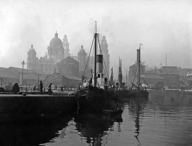 Liverpool, Liver buildings. Stunning!