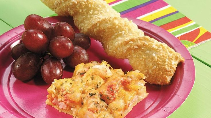 Tease appetites with shrimp- and crab-loaded crescents.