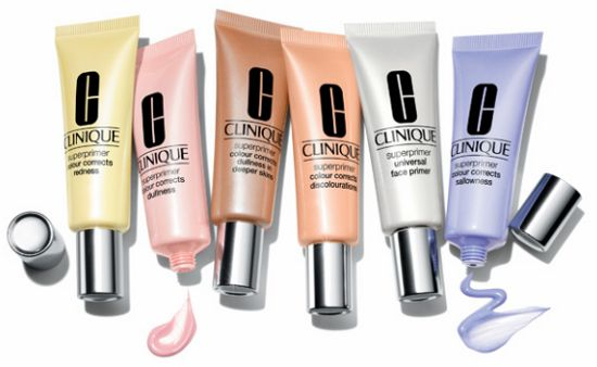 Clinique Superprimer - I use the redness (yellow) primer, and I love it!
