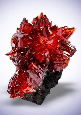Rhodochrosite - N`Chwaning Mines, Kuruman, Kalahari manganese field, Northern Cape Province, South Africa Size: 4.8 x 3.5 x 3.3 cm