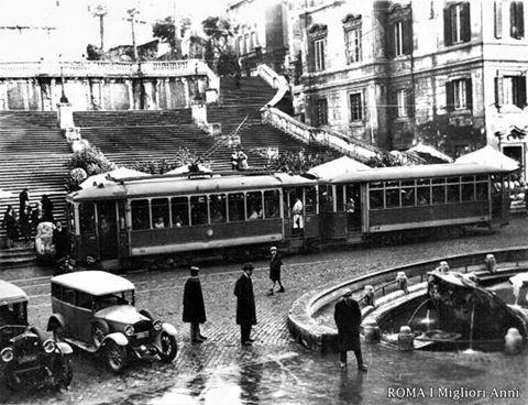 piazza di Spagna 1925