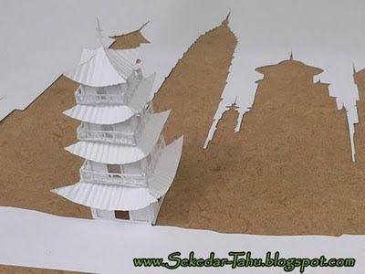 Karya Seni Unik Berbentuk 3 Dimensi Dari Kertas | wisbenbae