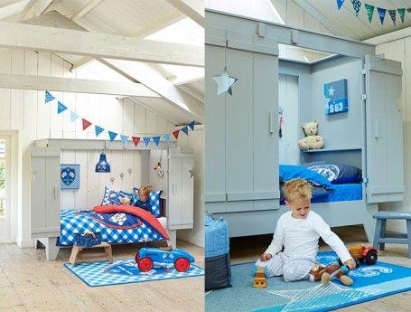 Lief! Lifestyle kinderbed   mooie houten bedstee voor jongen (nieuw!)   ZOOK.nl   houten kinderbed #kinderkamer #inspiratie