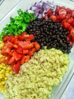 Shine Brighter: Mexican Quinoa 21 day fix approved