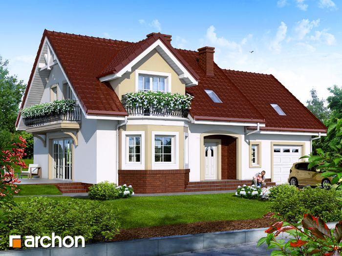 Projekt domu Dom w renetach 1