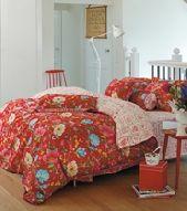 Pip Studio dekbedovertrek Chinese Garden rood overtrek, beddengoed slaapkamer overtrek.be
