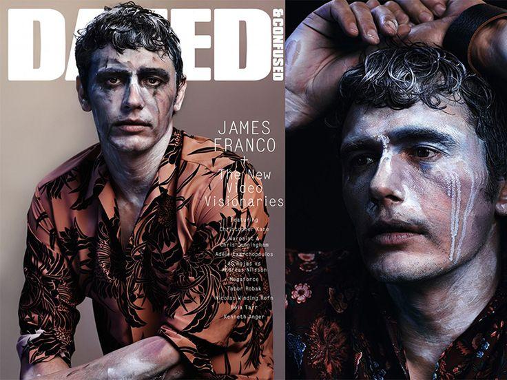 Герой нашего времени: Джеймс Франко в фотосессии Dazed & Confused