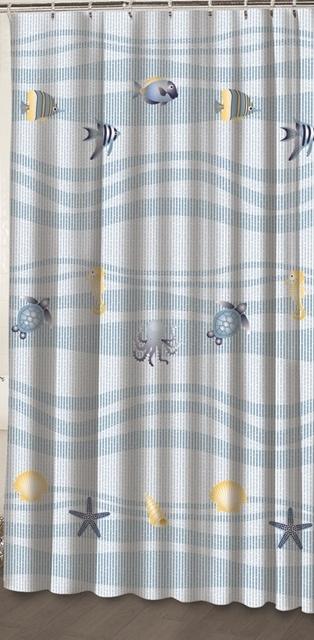 Ocean Fish Shower Curtain 2395